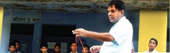 How a Math Teacher Turned a Small School in Uttarakhand Into a Model One