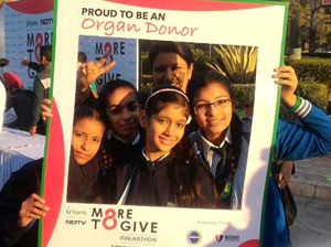 #MoreToGive Walkathon: Thousands Gather From Across India  To Support Organ Donation