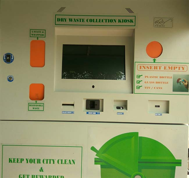 Waste Management Solutions: A Startup Develops Waste ATMs To Dispose Of Waste And Use E-Wallet To Transfer Money