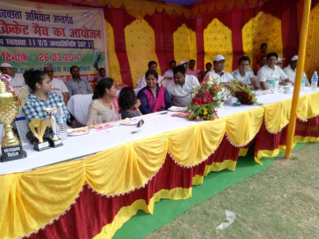Bihar's Katihar District Encourages Toilet Usage Through Cricket Matches