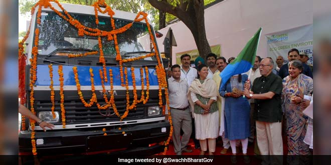 Delhi Fights Garbage With Scientific Waste Management Vehicles This World Environment Day