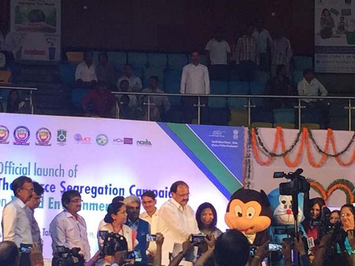 Minister for Urban Development Venkaiah Naidu at the event
