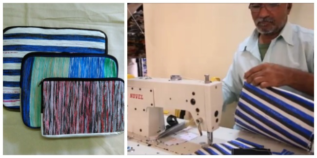 These IT Professionals Show India How To Turn Waste Plastic Bags In To Fashionable Handbags