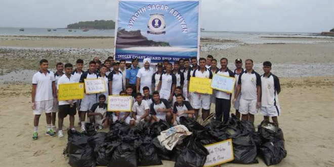 Swachh Sagar Abhiyan: Indian Coast Guards March Forward To Save Water Bodies In Andaman And Nicobar