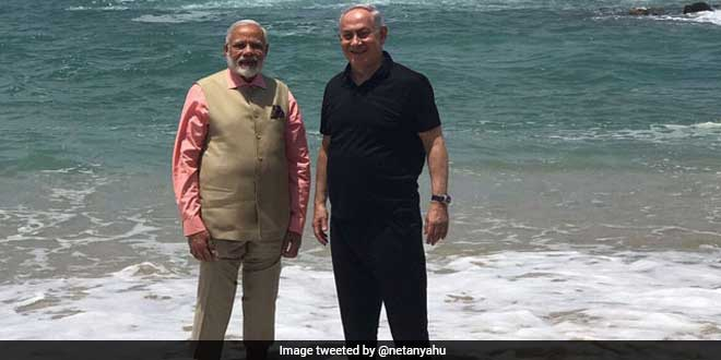 Prime Minister Modi In Israel: India Looks Forward To Israel's Cooperation In Water Management And Recycling