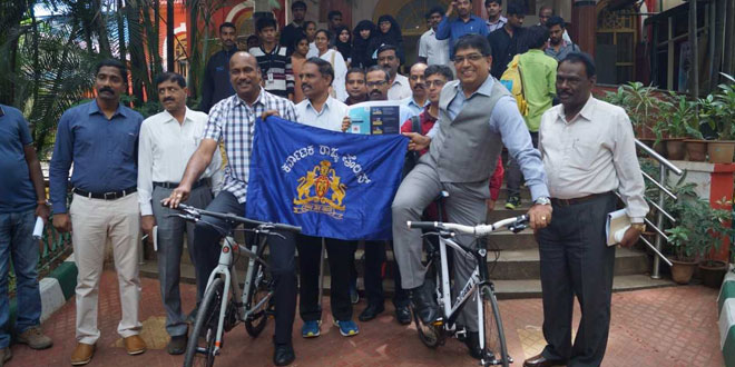 Bengaluru Police On Swachhta Duty In A First, Cops To Cycle 1,756 Kilometres To Spread Awareness On Swachh Bharat Abhiyan