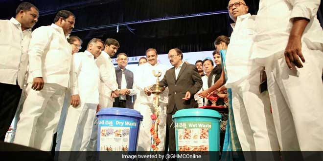 The GHMC has taken several steps to ensure proper waste management in Hyderabad
