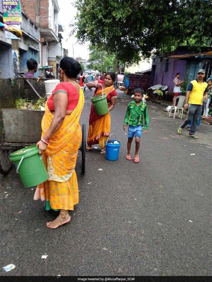 Segregation has caught up well among residents of Muzaffarpur