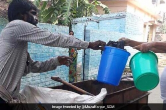 Waste segregation in Muzaffarpur