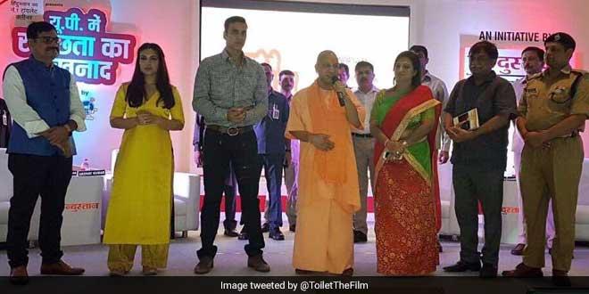 Team Toilet - Ek Prem Katha reached Uttar Pradesh to promote the film
