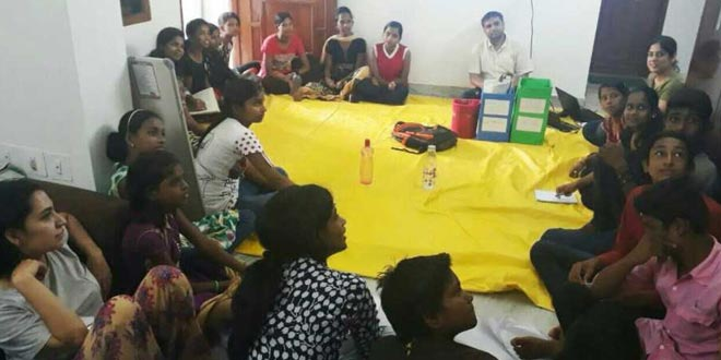 A Workshop In Bhubaneswar To Spread The Idea of Waste Management Among Children