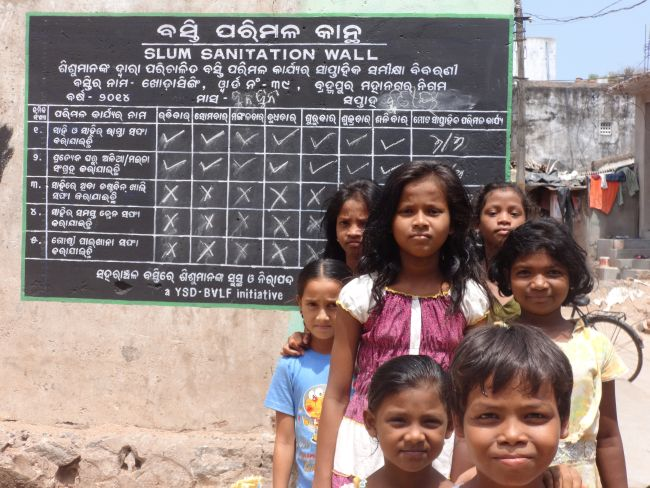 With Sanitation Report Cards And Swachh Walls As Their Weapons, Children From Odisha Slums Fight Open Defecation