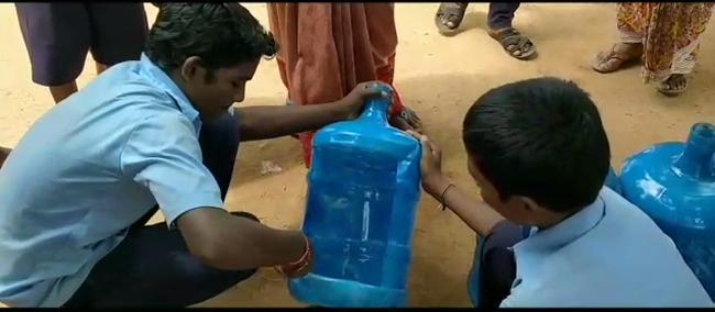 low cost urinals is the brainchild of the Chief Executive Officer of Koppal Zilla Parishad Venkat Raja