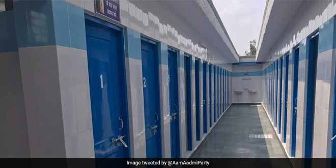 The Delhi government has built over 11,000 public toilets in the past three years