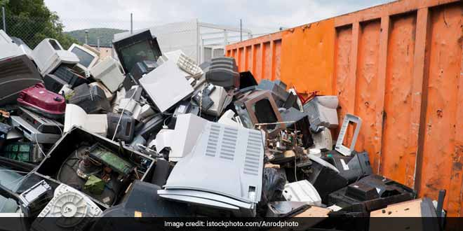 E-waste production in India can go up by 2020