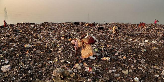 Dhapa landfill in Kolkata