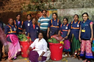 150 Ragpickers, 200 Volunteers Diverts 140 Tonnes Of Waste From Mula-Mutha River During Ganesh Visarjan 2017