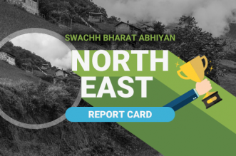 Northeast India sanitation report card
