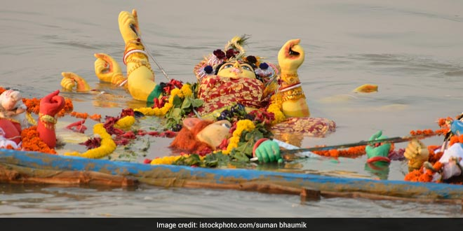 Submit A Report On Condition Of Yamuna Post Immersion Of Ganesh And Durga Idols