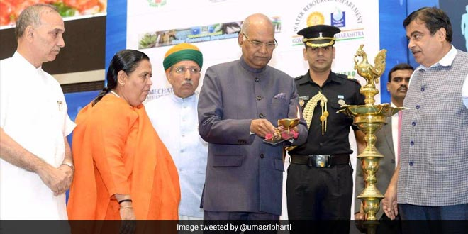 President Ram Nath Kovind inaugurates the India Water Week