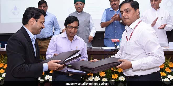 Tripartite Agreement To Build Two Sewage Treatment Plants On Ganga