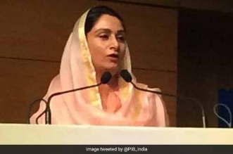 #NoWasteOnMyPlate: Reducing Food Waste Is The Top Priority For India, Says Union Minister Harsimrat Kaur Badal