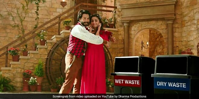 Alia Bhatt And Varun Dhawan Recreate Romeo-Juliet For Swachh India Cause
