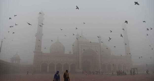 PHOTO FEATURE ON DELHI SMOG: CITY'S FAMOUS LANDMARKS IN A Gas Chamber