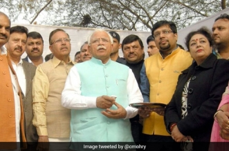 Haryana Chief Minister Manohar Lal Khattar launches state-level Swachh Survekshan Grameen