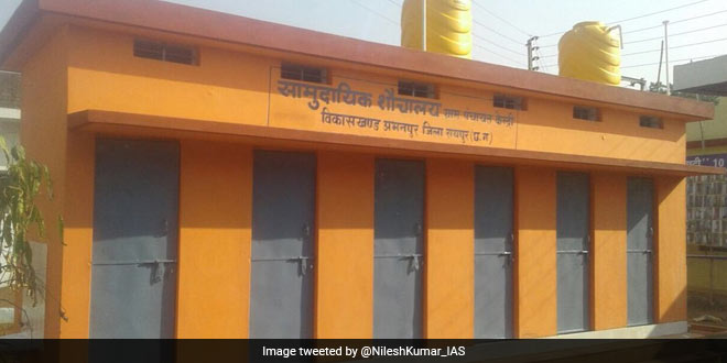 With The Construction Of 1,30,000 Toilets Raipur District Becomes Open Defecation Free