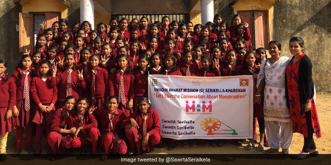Countering Menstruation Taboos, Jharkhand's Remote District Launches A Campaign On Menstrual Waste Management