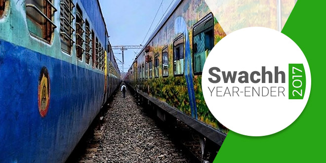 Swachh Year-Ender 2017: 5 Highlights How Railways Went Green This Year