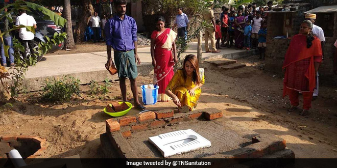 Using A Toilet Prevents Diseases And Malnutrition, It Saves Lives: Actor Trisha Krishnan