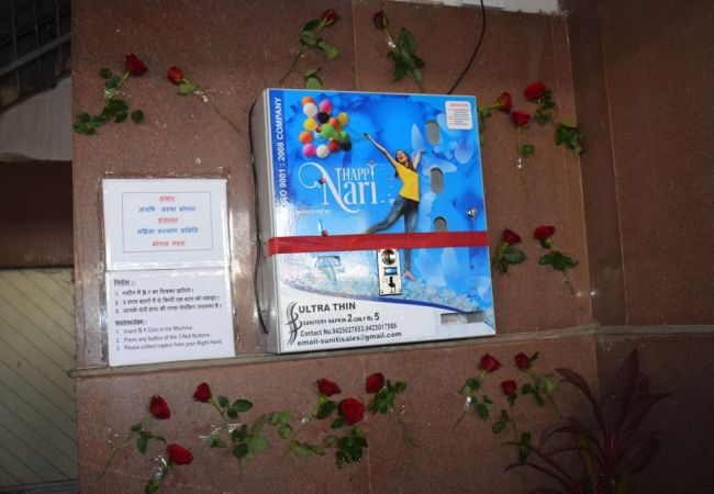 Bhopal Becomes The First Railway Station In India To Install Sanitary Napkin Vending Machine