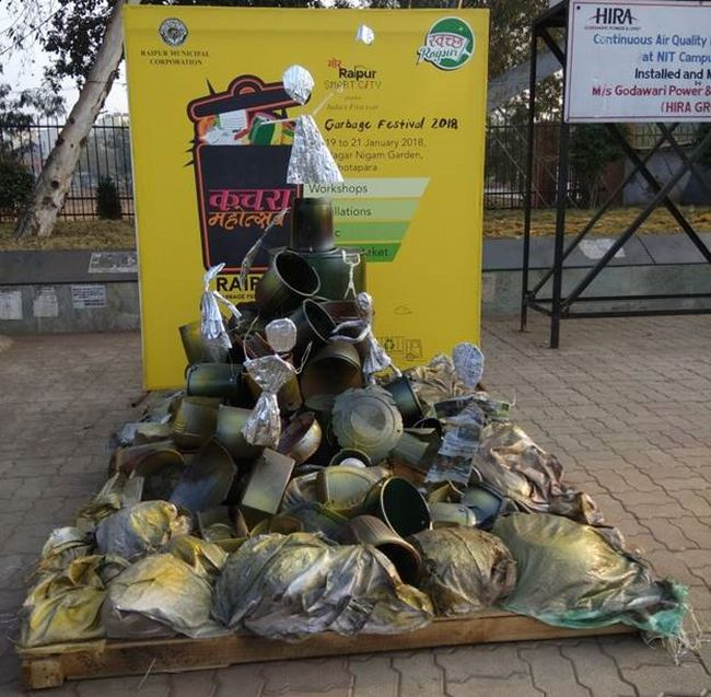 First Time In India, A Kachra Mahotsav Is Being Held In Raipur To Instill Habit Of Recycling Among People