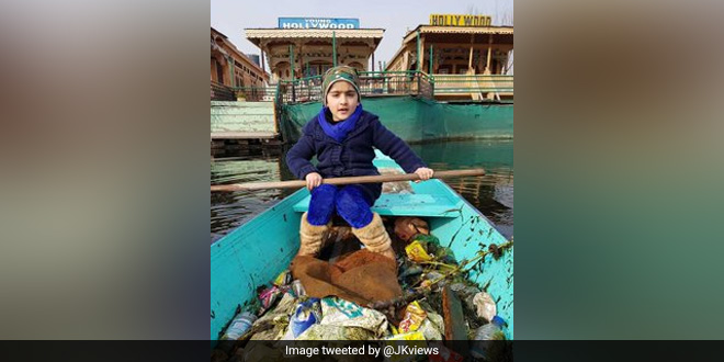 Little Girl's Initiative To Clean Dal Lake Impresses Many Including Prime Minister Narendra Modi