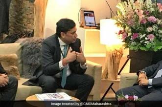 Maharashtra CM Discusses Waste Management At World Economic Forum's Davos Meet