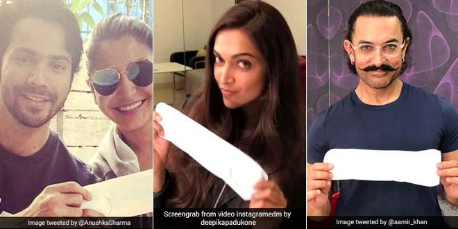 #PadManChallenge: Celebrities Get Candid And Creative To Break Taboo Around The Menstruation