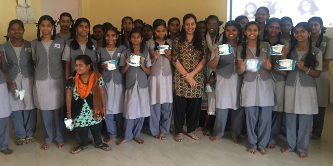This Software Professional From US Returned To India To Create Awareness About Menstrual Hygiene