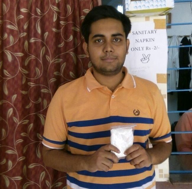 Vending Machine Made From Ice Cream Cardboard Box, This Kolkata Boy Provides Women Sanitary Napkins At Just ₹ 2