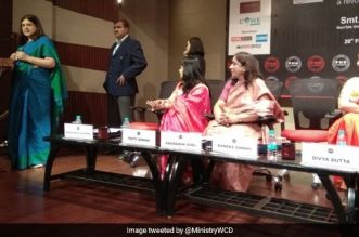 Maneka Gandhi launches the #YesIBleed campaign