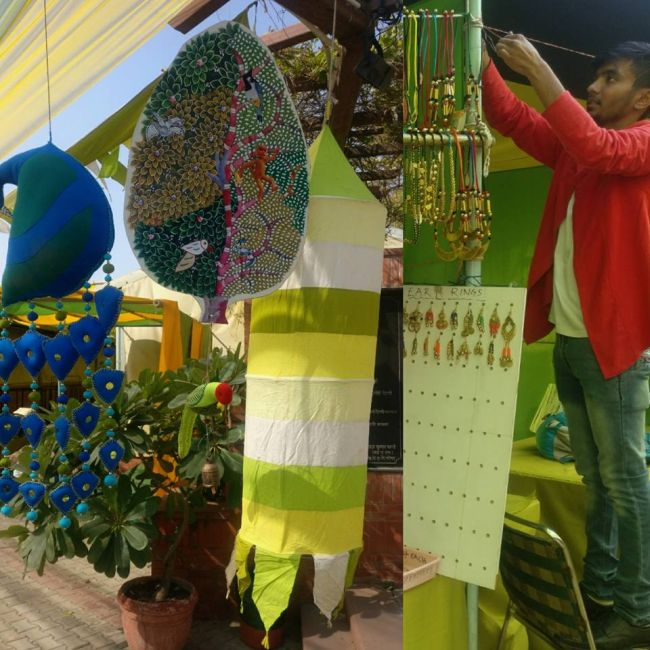 Glimpses Of Dastkar Basant Bazaar Mela With Eco-friendly Handicrafts