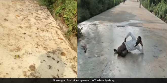 pdo-mahadevswamy-open-defecattion-free-village-clean-road