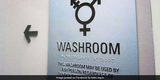 Institute Sets Up Gender-Neutral Toilet On Transgender Student's Request
