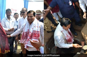 Assam Chief Minister Launches A Swachh Movement, To Construct 1 Lakh Toilets To Become Open Defecation Free
