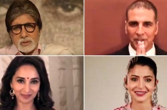 Amitabh Bachchan, Akshay Kumar, Madhuri Dixit And Anushka Sharma Lend Support To #ChaloChamparan Campaign To Improve Bihar's Swachh Performance