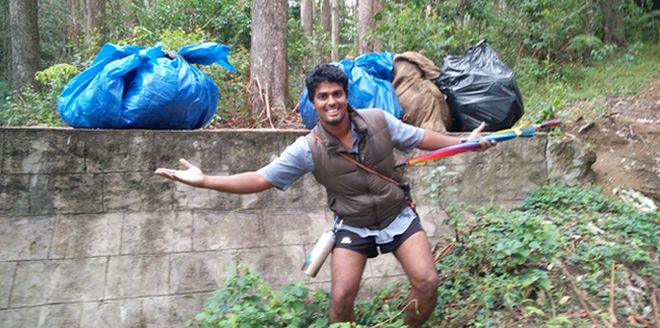 With Cleanliness And Fitness On The Same Board, This 35-Year Old Is Promoting Plogging In India