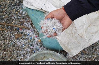 This Meghalaya Village Uses 430 Kilos Of Plastic Waste To Construct One Kilometre Long Road