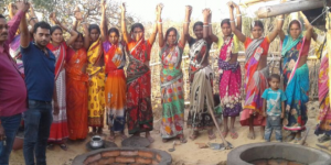 Here's What Vice President Venkaiah Naidu Wants India To Learn From ODF Jharkhand's Women Masons