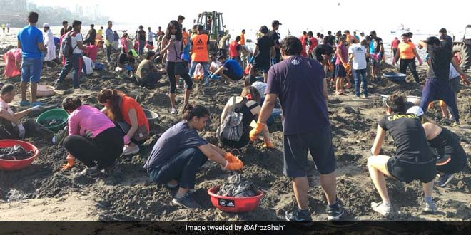Mumbai To Celebrate World Environment Day With A Mass Clean-Up At Versova Beach